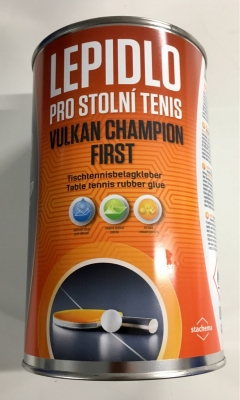 Tischtennis Belagkleber VULKAN Champion first, 1000 ml