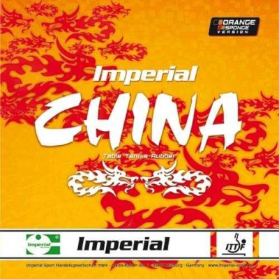 Imperial Belag China Orange Sponge