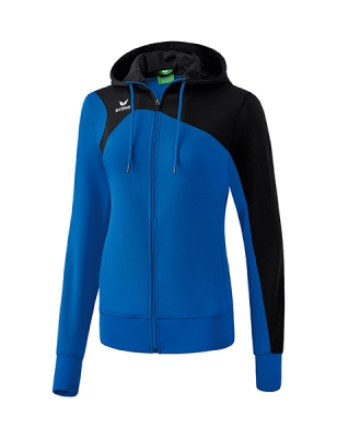 ERIMA Frauen Club 1900 2.0 Trainingsjacke mit Kapuze CLUB 1900 2.0 new royal/schwarz