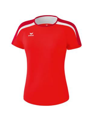 ERIMA Frauen Liga 2.0 T-Shirt LIGA LINE 2.0 rot/dunkelrot/weiß