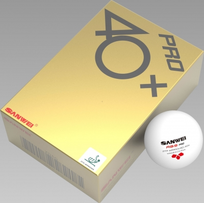 Sanwei Ball ABS 40+ Pro*** weiss 72er Packung