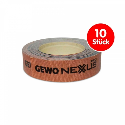 GEWO Set 10x Kantenband Nexxus 5m/12mm