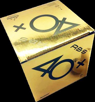 Sanwei 40+ ABS 1-Stern (100er Packung) (+3% Zusatzrabatt)
