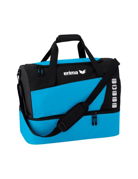 b549b44ec3719 ERIMA Herren Sporttasche mit Bodenfach CLUB 5 curacao schwarz Bild  vergrößern. Unser bisheriger Preis ...