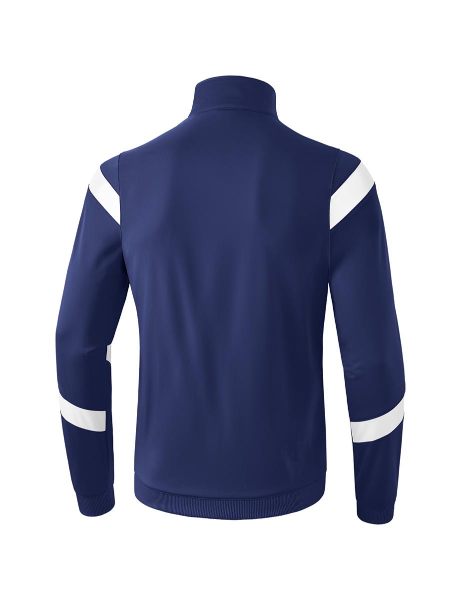 Bekleidung Jacken Erima Classic Team Polyesterjacke Kids Blau Weiss