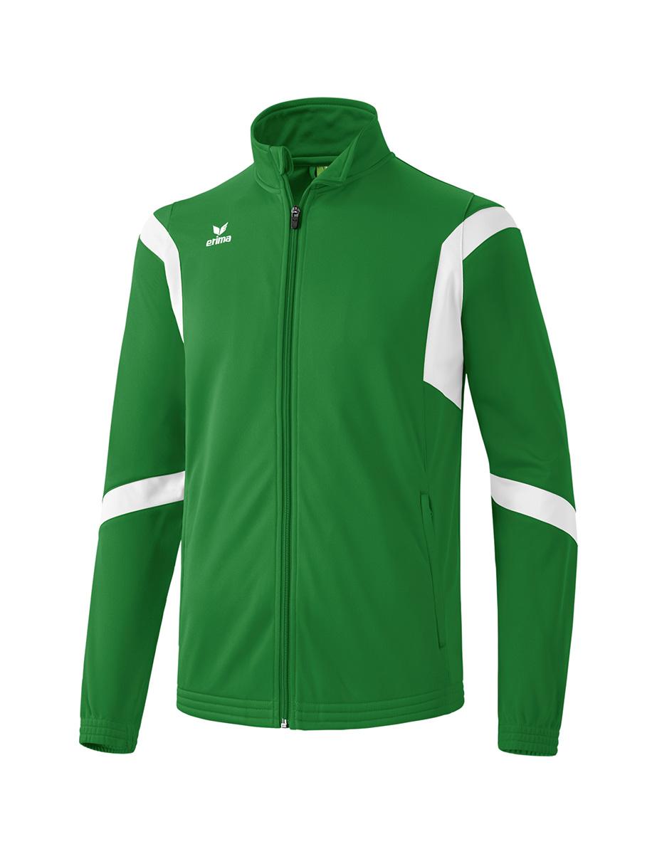 ERIMA Kinder / Herren Classic Team Trainingsjacke Classic Team smaragd/weiß