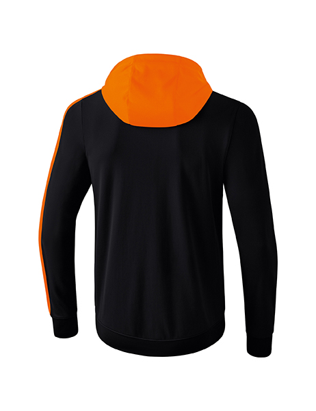 ... ERIMA Kinder   Herren Club 1900 2.0 Trainingsjacke mit Kapuze CLUB 1900  2.0 schwarz orange 6b76e529f6