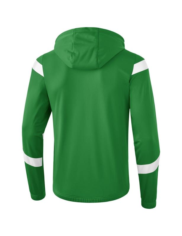 060a2a29cc9139 ERIMA Kinder   Herren Classic Team Trainingsjacke mit Kapuze Classic Team  smaragd weiß