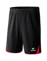 ERIMA CLASSIC 5-C Shorts schwarz/rot