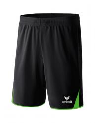 ERIMA CLASSIC 5-C Shorts schwarz/green