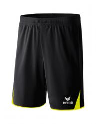 ERIMA CLASSIC 5-C Shorts schwarz/neon gelb
