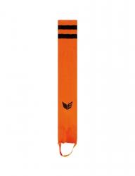 ERIMA Streifenstutzen orange/schwarz
