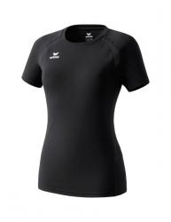 ERIMA Frauen PERFORMANCE T-Shirt schwarz