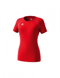 ERIMA Frauen PERFORMANCE T-Shirt rot