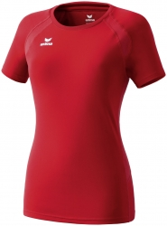 ERIMA Women PERFORMANCE T-Shirt  rot