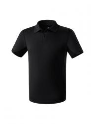 ERIMA Kinder / Herren Funktions-Poloshirt schwarz