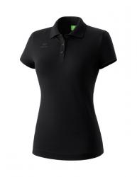 ERIMA Damen Teamsport Poloshirt schwarz