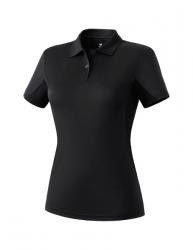 ERIMA Frauen Funktions-Poloshirt schwarz