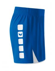 ERIMA Damen CLASSIC 5-C Shorts new royal/weiß