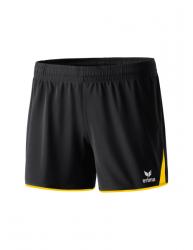 ERIMA Frauen 5-CUBES Short 5-CUBES schwarz/gelb (1,5% Zusatzrabatt bei Vorkasse)