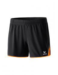ERIMA Frauen 5-CUBES Short 5-CUBES schwarz/orange
