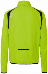ERIMA Men's Running Jacket lemon green / black