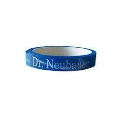 Dr. Neubauer Kantenband 9mm für 1 Schläger blau
