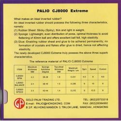 Palio Belag CJ 8000 Spin