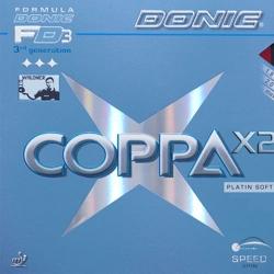 Donic Belag Coppa X2 Platin Soft