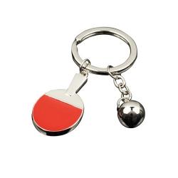 Tibhar Schlüsselanhänger Silberschläger silber