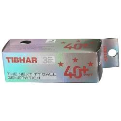 Tibhar 3 *** Ball 40+ SYNTT 3er weiß