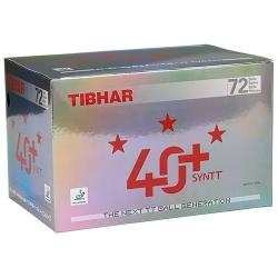Tibhar 3 *** Ball 40+ SYNTT 72er weiss