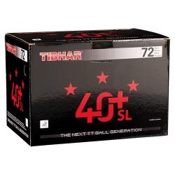 Tibhar Ball ***40+ SL (nahtlos) 72er weiss