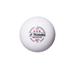 Nittaku Ball Premium 40+ *** Cell Free 120er weiß