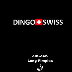 Dingo Swiss Belag Zik Zak (Langnoppe)
