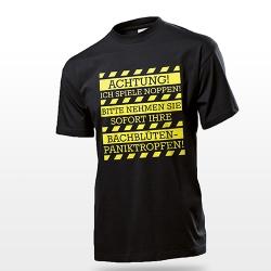Fun Shirt Achtung Noppen