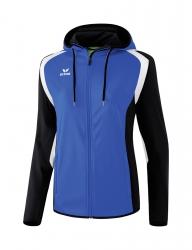 ERIMA Frauen Razor 2.0 Trainingsjacke mit Kapuze Razor 2.0 new royal/schwarz/weiß