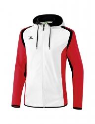 ERIMA Kinder / Herren Razor 2.0 Trainingsjacke mit Kapuze Razor 2.0 weiß/rot/schwarz