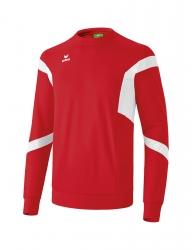 ERIMA Kinder / Herren Classic Team Sweatshirt Classic Team rot/weiß
