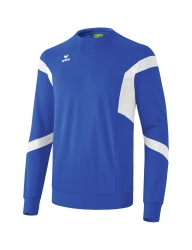 ERIMA Kinder / Herren Classic Team Sweatshirt Classic Team new royal/weiß