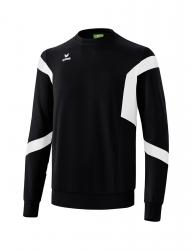 ERIMA Kinder / Herren Classic Team Sweatshirt Classic Team schwarz/weiß