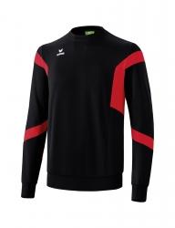 ERIMA Kinder / Herren Classic Team Sweatshirt Classic Team schwarz/rot