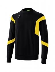 ERIMA Kinder / Herren Classic Team Sweatshirt Classic Team schwarz/gelb