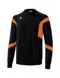 ERIMA Kinder / Herren Classic Team Sweatshirt Classic Team schwarz/orange