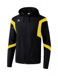ERIMA Classic Team Training Jacket with hood Classic Team schwarz/gelb