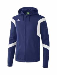 ERIMA Kinder / Herren Classic Team Trainingsjacke mit Kapuze Classic Team new navy/weiß