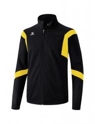 ERIMA Kinder / Herren Classic Team Trainingsjacke Classic Team schwarz/gelb