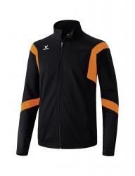 ERIMA Kinder / Herren Classic Team Trainingsjacke Classic Team schwarz/orange