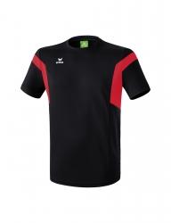 ERIMA Kinder / Herren Classic Team T-Shirt Classic Team schwarz/rot