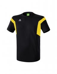 ERIMA Kinder / Herren Classic Team T-Shirt Classic Team schwarz/gelb